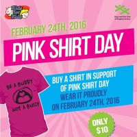 Pink Shirt Day 2016 -- Kingston Ontario Events | YGKEvents.com